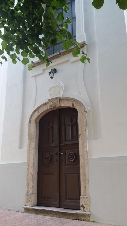 Templom bejárat Bakonyszücs