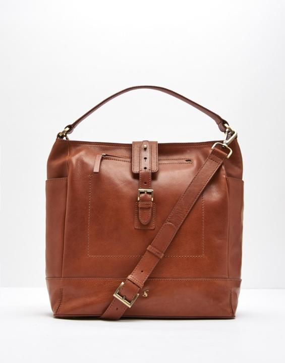 Joules Belsize Leather Tote Bag