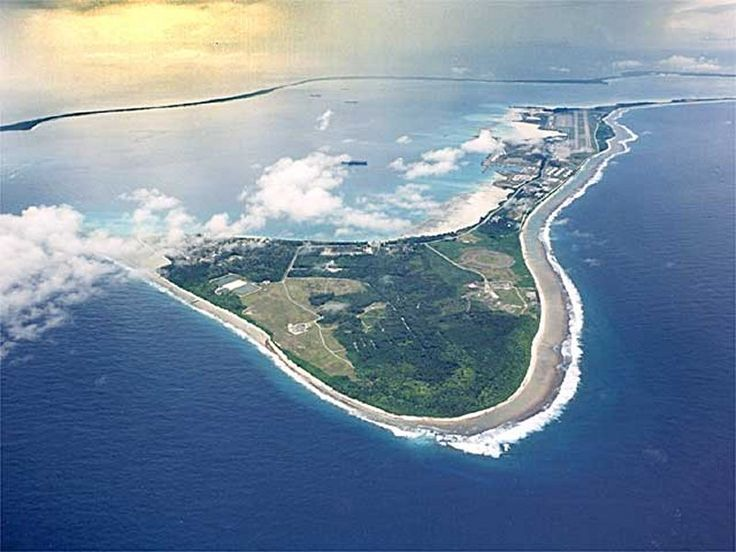 Diego Garcia, British Island territory Indian Ocean