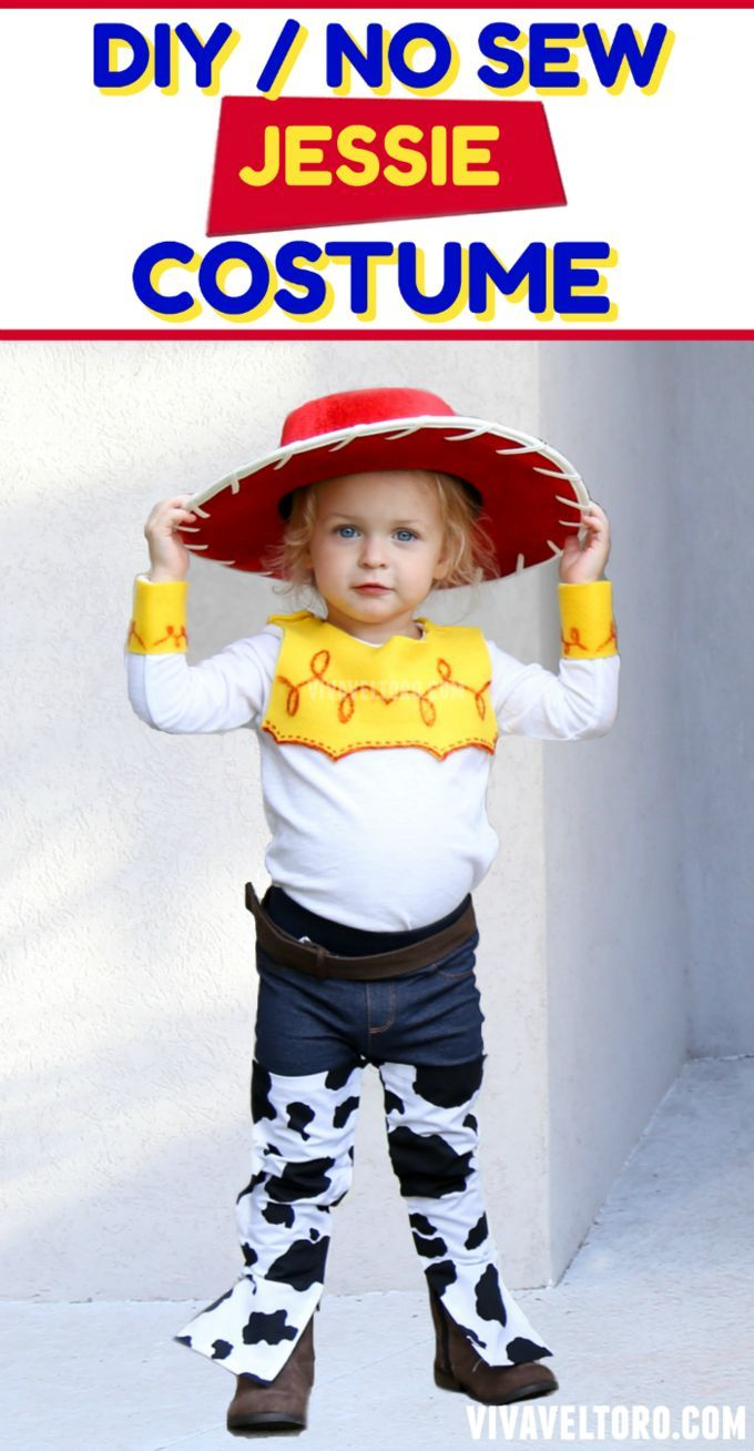 LOVE this Jessie Toy Story costume! See how it was put together with items from JCPenney! #soworthit #ad