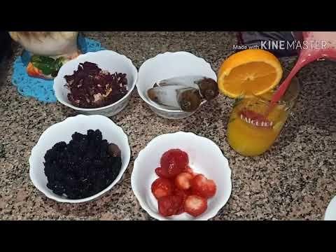 طريقه عمل عصير الشمندر بالفواكه لذيذ وصحي ومفيد ايضا لفقر الدم Youtube Food Desserts The Creator