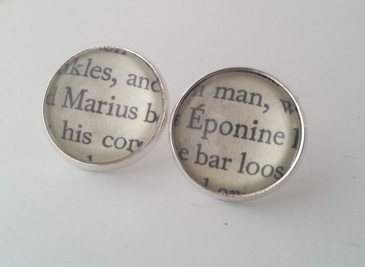 Les Miserables Marius and Eponine Book by GlamorousGlueDesigns, $16.00