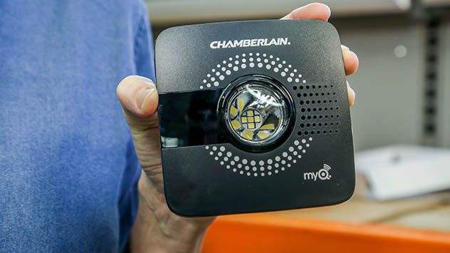 This Technology Makes Any Garage Door Smart Garage Doors Old Garage Garage Door Opener