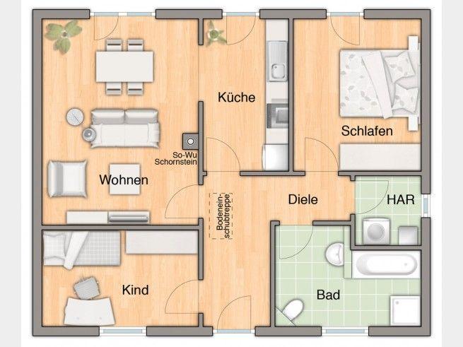 442 best zukünftiges Haus images on Pinterest House floor plans - küche mit kochinsel grundriss