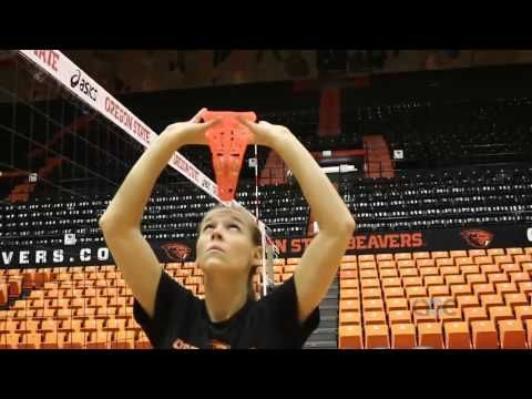 AVCA Video Tip of the Week: Cone Forehead Setting Drill - YouTube