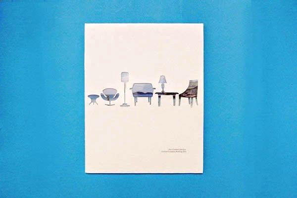 Contoh Desain Gambar Buku Laporan Tahunan - Annual Report Your Comfort Lifestyle oleh Chia Yoong Sin