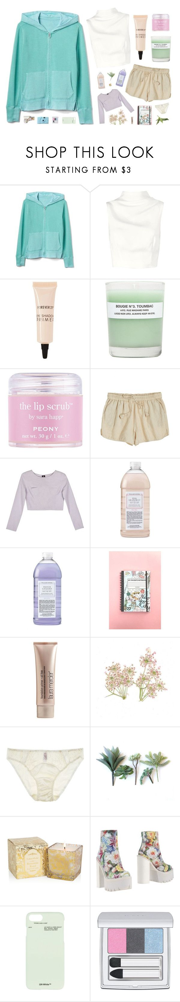"""""""810"""" by glitterals ❤ liked on Polyvore featuring Gap, Keepsake the Label, Forever 21, A.P.C., Sara Happ, Calypso St. Barth, Samantha Pleet, Williams-Sonoma, Laura Mercier and Fleur of England"""