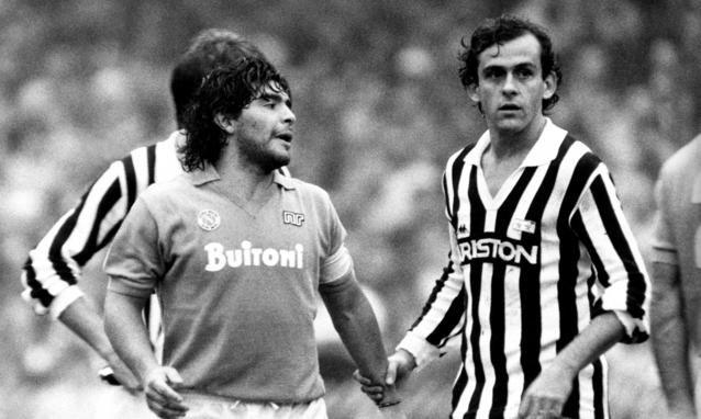 Maradona & Platini