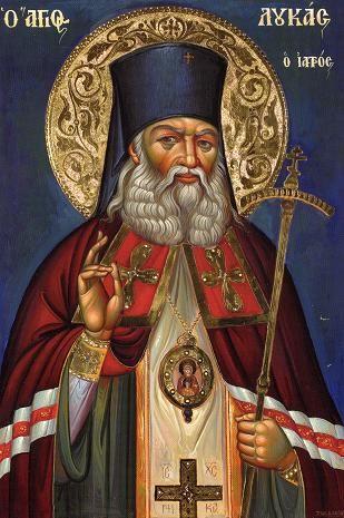 Παναγία Ιεροσολυμίτισσα: Τα τελευταία λόγια του Αγίου Λουκά Συμφερουπόλεως ...