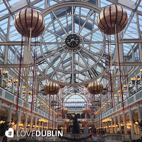 #StephensGreen #Shopping Centre know how to do #Christmas #decorations! #LoveDublin
