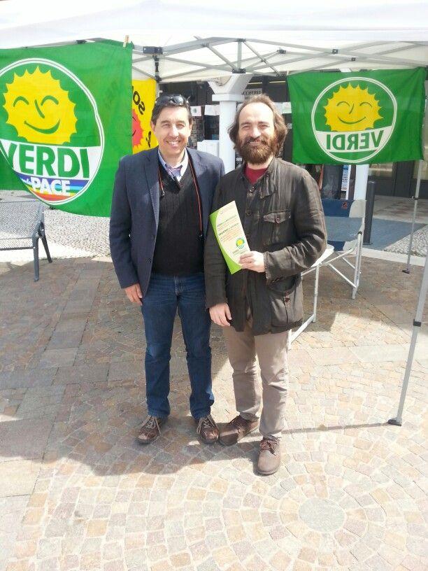 Gazebo Cognola con Riccardo Acerbi