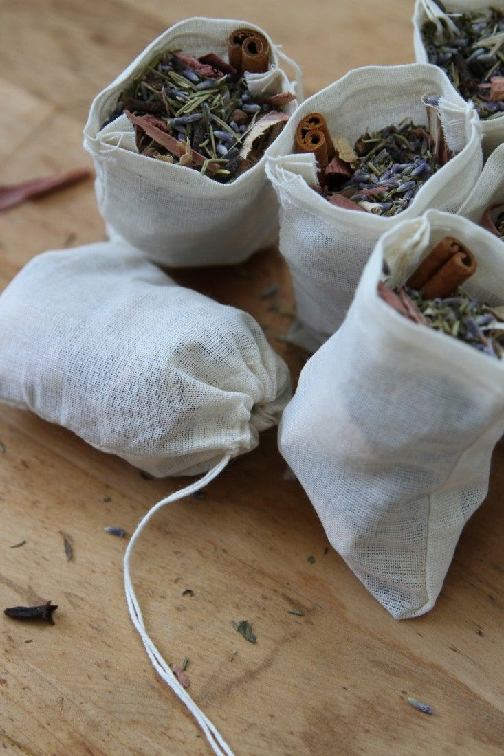 Keep Clothes Moths Away with An Herbal Mothball Alternative | Gardenista