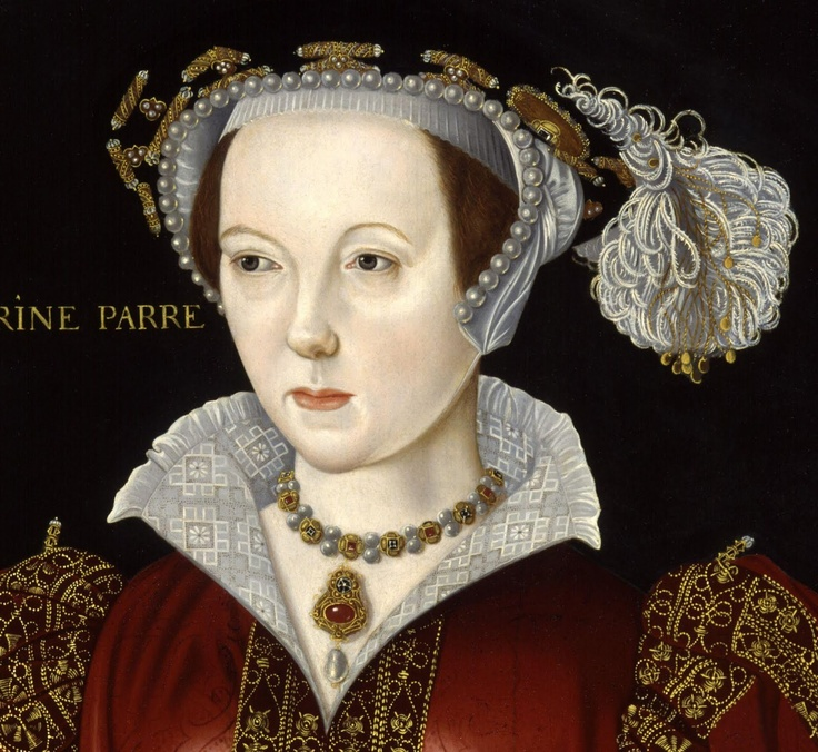 Catherine Parr c.1545 Queen of England as the last of the six wives of King Henry VIII of England, whom she married on 12 July 1543 and outlived him.  Born: 1512, London Died: September 5, 1548, Sudeley Castle Buried: England Children: Mary Seymour Spouse: Thomas Seymour, 1st Baron Seymour of Sudeley (m. 1547–1548),  Siblings: Anne Herbert, Countess of Pembroke, William Parr, 1st Marquess of Northampton