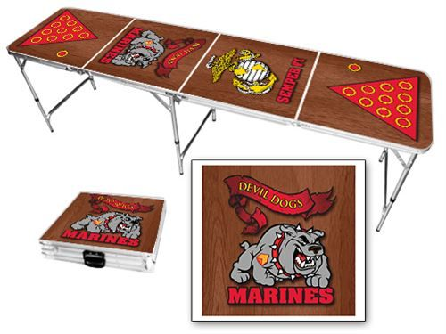 23 best images about patriotic beer pong tables on for Table 6 usmc