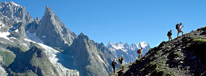 Tour du Mont Blanc. Can't wait for this!