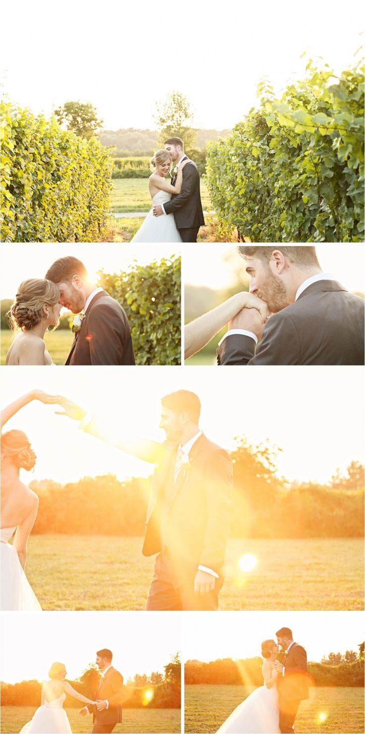 AT KURTZ: The sunset photos  Chelsea and Adam – Wedding at Kurtz Orchards – Gracewood Estates, Niagara-on-the-Lake » Face Photography – Toronto Wedding Photography Speci...