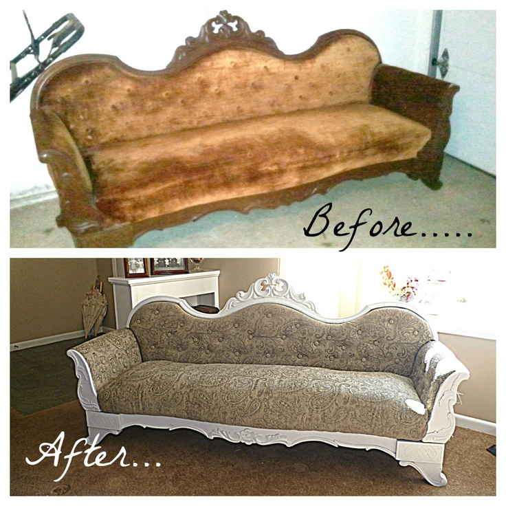 Reupholstered sofa design inspiration pinterest sofas Reupholster loveseat