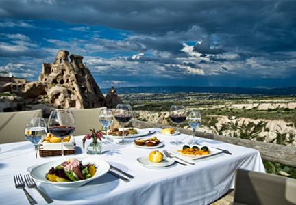seki restaurant-lounge, cappadocia, turkey
