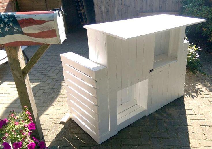 Loungemöbel - Garten Bar /Paletten Keller Bar -Palettenmöbel - ein Designerstück von Palettery bei DaWanda