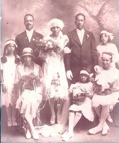 When Cape Verdeans Maria Roderiques and Josefino Lopes Cabral were married in 1928 in Nantucket, MA, they had to settle for a rectory wedding. As people of color, they were not allowed to be married in the Cathedral of Our Lady of the Isle Church. 24 years later, their daughter Norma married Albert Teixeira. Theirs was the first Cape Verdean wedding allowed in the Cathedral. (Source: Nantucket Historical Association)