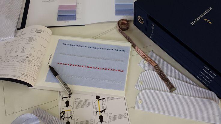 """Serviciul """"Su Misura""""  Prin acest serviciu clienții, împreună cu consultanții Colonna, își pot  croi și personaliza  propria cămașă. Se poate alege tiparul, materialul, gulerul, manșetele, buzunarul și  inițialele brodate."""