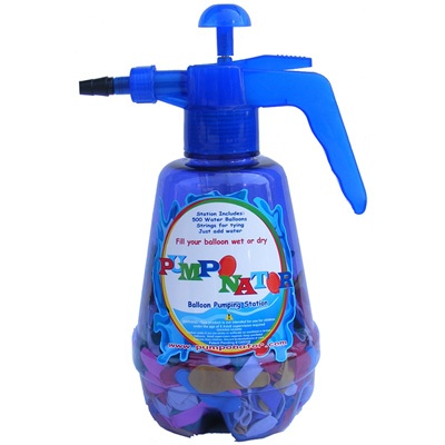 Pumponator Manual Balloon Pumping Device - This is a super easy way to make water balloons with kids!  Thanks Marjorie!: Kids Fillings, Balloon Fillings, For Kids, Pumps Stations, Pumpon Balloon, Balloon Pumps, Pumpon Water, Water Balloon, Pumpon Summer