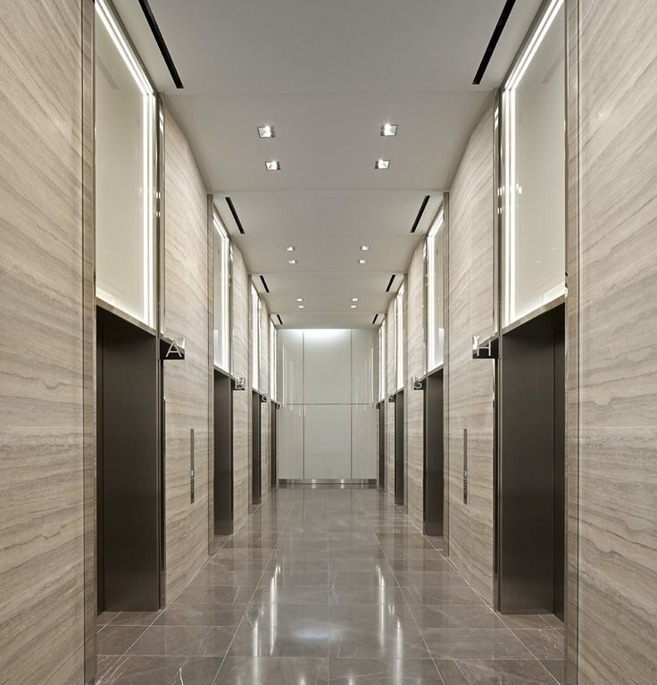modern office elevator lobby ceiling lights - Google Search