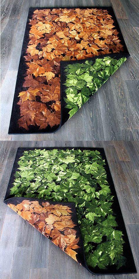 Alfombra para cambios de estación/ Carpet for seasonal changes by Yldesign  #design