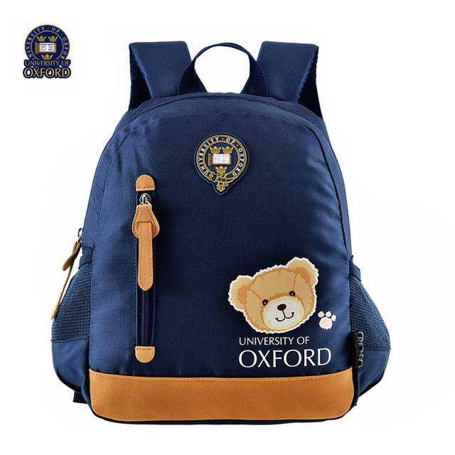 Universidad de oxford niños/niños encienden los libros mochila guardería cartera bolsa mochila para niños/niñas de kindergarten