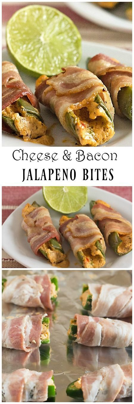 Cheesy Bacon Jalapeno Bites | itsyummi.com | game day food | appetizers | easy appetizers | bacon | jalapeno poppers | snacks | recipe