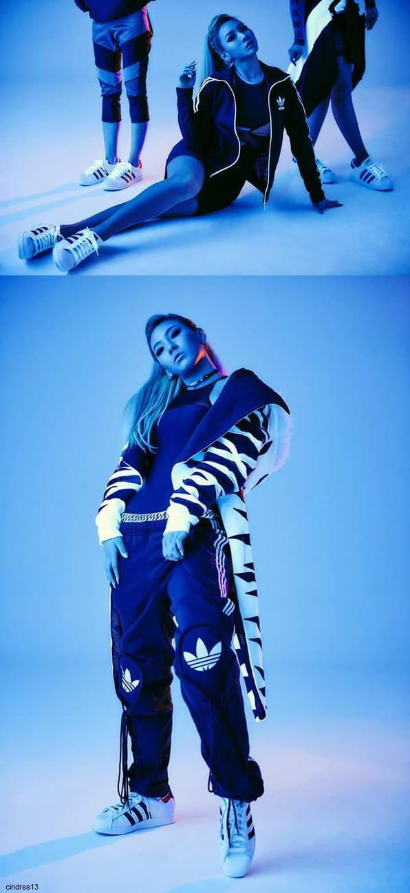 #CL #2NE1 #ADIDAS