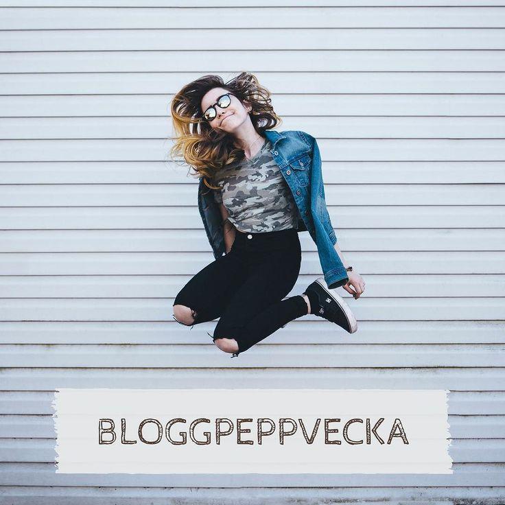 Du har väl inte missat att det är #bloggpeppvecka i bloggruppen Bloggsucce på Facebook?!? Det är som det låter - en peppig vecka för dig som vill komma igång med bloggen eller behöver en extra puff!  Använder du bloggen i din marknadsföring? Kom och häng med oss!