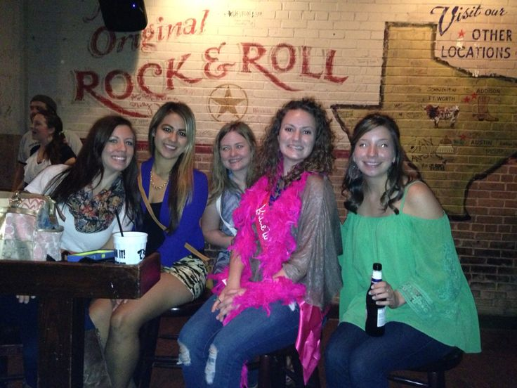 Bachelorette Party at Pete's Piano Bar in Ft Worth