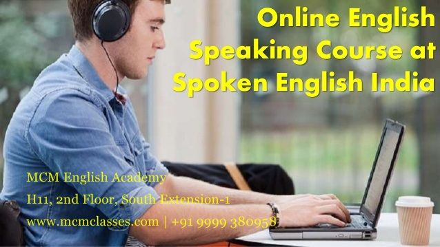 We are best online english spoken provider. With the skilful teaching methodolies MCM Online English tutor has emerged as one of the best online spoken english institute in delhi We offer online and offline english language classes,Improve your spoken English skills by international level faculty through advance softwares. Join India's no 1 Online English Class and be a fluent english speaker from your home.