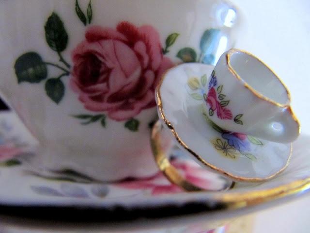 Gaaf ringetje voor een klein kopje thee