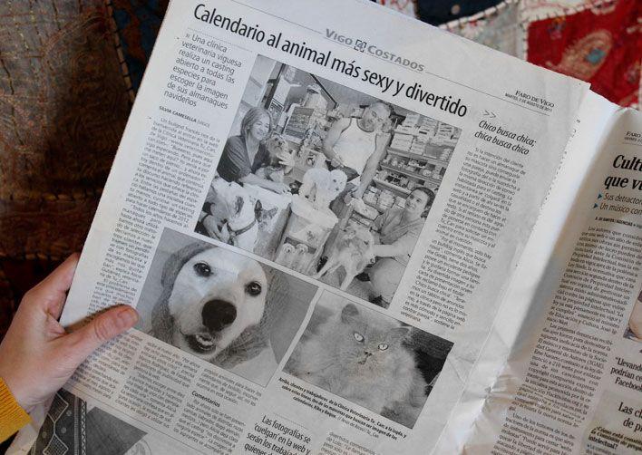Prensa: Proyectos promocional Veterinario TU CAN