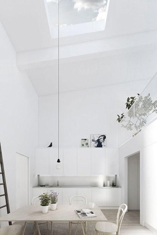 Loft, places and spaces