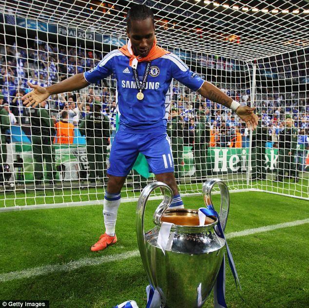 Champions of Europe 2012 King Didi
