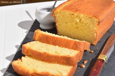 Cake ultra moelleux au lait ribot