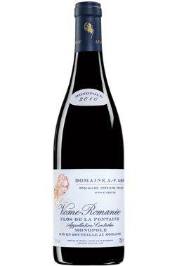 Domaine A.F. Gros Vosne-Romanée Clos de la Fontaine 2010   Vin rouge   11913112   SAQ.com