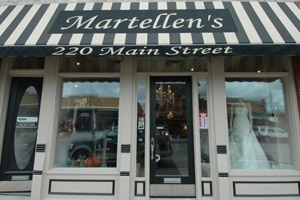 Bought my dress at MartEllen's Bridal Boutique in downtown Lemont. Great designer selection, awesome shop & owner Mary Ellen was a pleasure to work with!!!