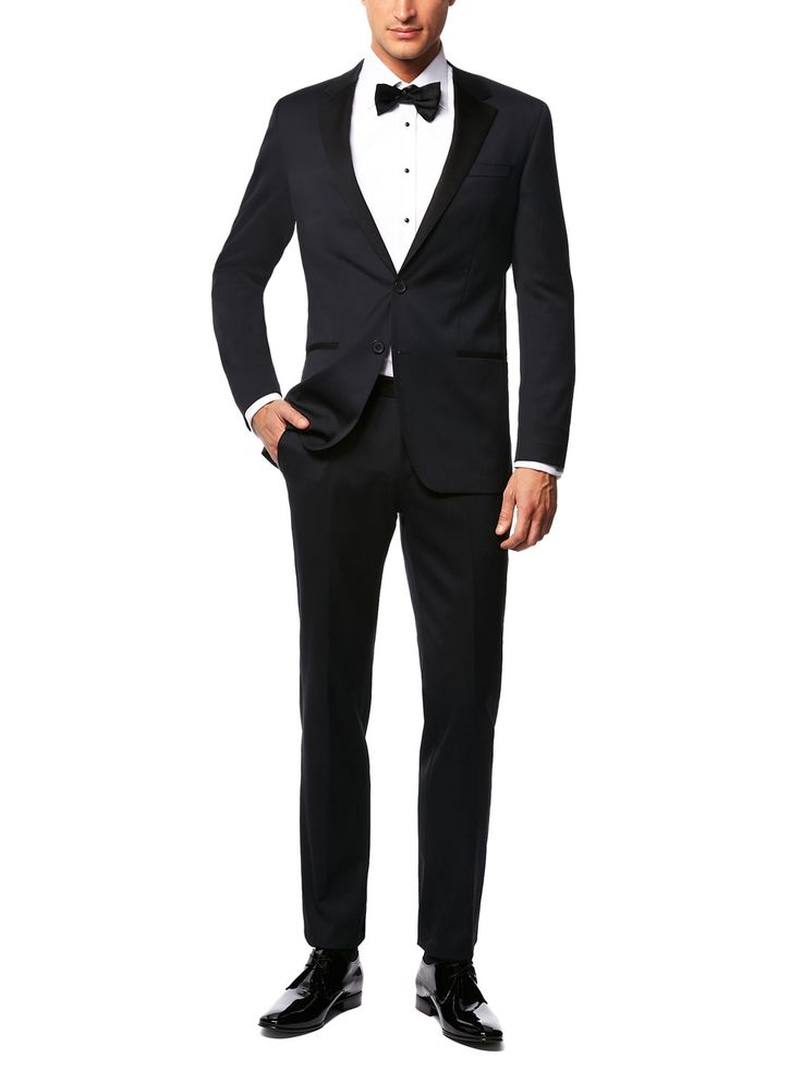 "Wool Stretch ""High General"" Tuxedo by Boss Black"