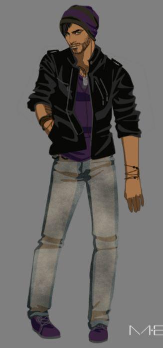 Ezra Jacob Laughton (Jones) // College (2)