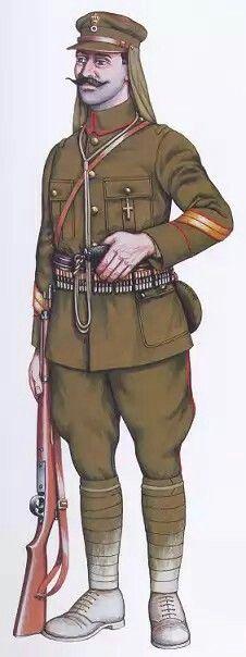 Greek Army WW1 - scout sniper - pin by Paolo Marzioli
