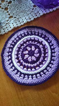 Mandala..Pattern and tutorial on Attic24