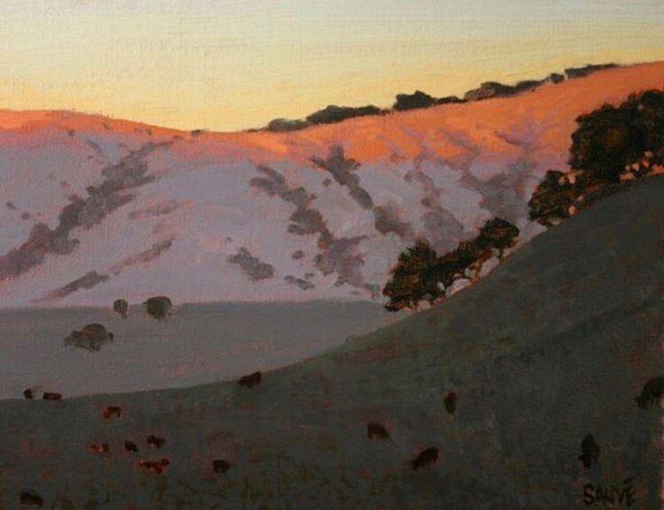 42 best images about terry sauve landscape paintings on
