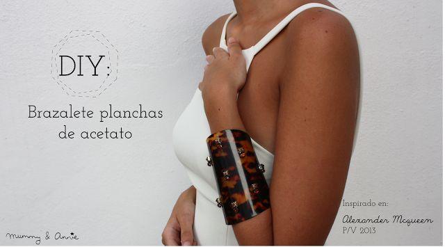 DIY: BRAZALETE ACETATO CAREY - Handbox   Craft Lovers