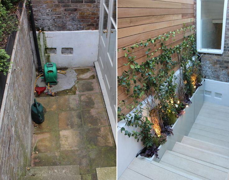 19 best images about kentish town chic garden on pinterest for Garden decking north london