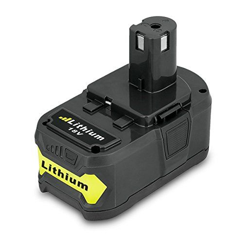 FLOUREON 18V 4000mAh Replacement Lithium Ion Cordless Tool Battery for RYOBI P108 One+ Plus P100 P102 P103 P104 P105 P107 RB18L Cordless Drill Trimmer #FLOUREON #Replacement #Lithium #Cordless #Tool #Battery #RYOBI #One+ #Plus #Drill #Trimmer