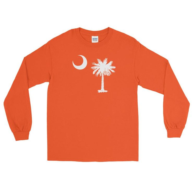 South Carolina Palmetto Moon Tree Long Sleeve T-Shirt